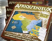 Afriqu'enjeux- The Africa Memory Game (Paulette)