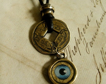 Eye of Gold - Necklace