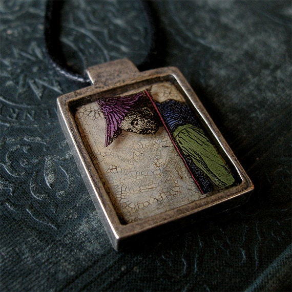 The Purple Sower - Necklace