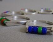 SALE - Abacus Ring - fidget design - Custom colour  - Unique Jewellery - Handmade