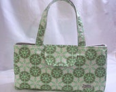 The Hildie Bag with Amy Butler's Mosaic in Kiwi