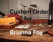 Custom Order for Brianna Foy
