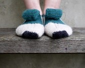 Striped Women's Socks - Slippers MADE TO ORDER