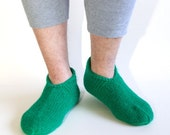 Eco green Men's Socks-slippers MADE TO ORDER