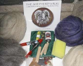 Complete Rug Braiding Kit