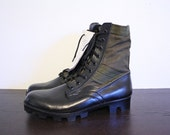 Combat Military 1960s Vietnam Jungle Boots Size W 9 10 / M 8 New Old Stock