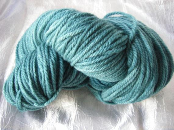 Hand Dyed Uruguayan Merino Yarn Teal 100G