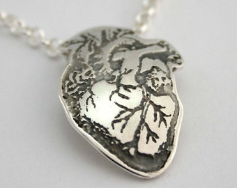 Beating Heart: Anatomical pendant
