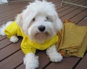 Tootlewear's Dog Full Body Rainsuit-Yellow Medium