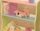 SHIPS TODAY Pastel Bookcase