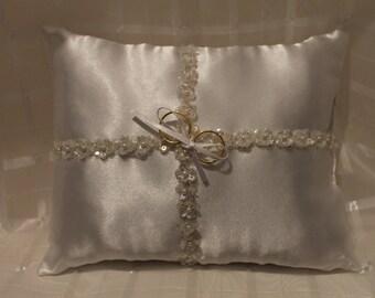 Sequin Ring Bearer Pillow