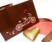 Tandem Save-the-Date Custom Wedding Stationery Deposit