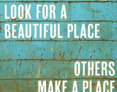 """A Beautiful Place - 11x17"""" Poster Print"""