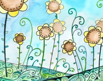 Lemon Meringue - Moon Cookie Gallery Print