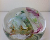 "Abstract Romantic ""Floral"" Paperweight"