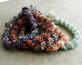 Bracelet. Custom Color, Dutch Tassel, Handwoven Bracelet.