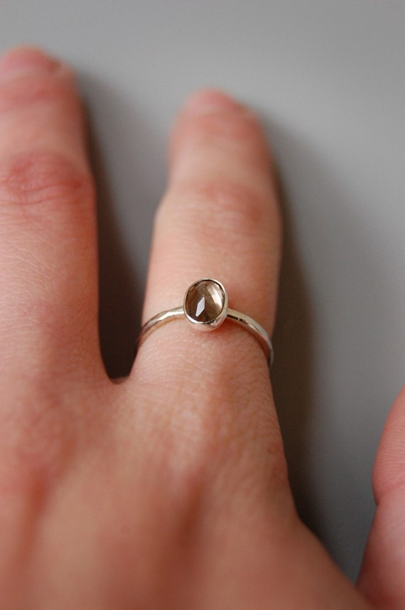Juicy Stackables - Silver and Gemstone Single Ring