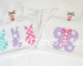 Girl toddler short sleeve or long sleeve shirt you choose any one design in my shop