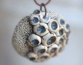 After the Rain - A funky fungi pendant.