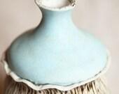 Whimsy - a sweet sculptural porcelain vase.