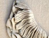 Fungi Form - a nature inspired porcelain mushroom necklace.