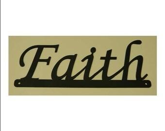 Inspirational Words - Faith Sign