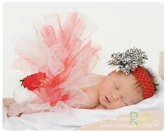 Newborn  Baby Heart  Diaper Cover