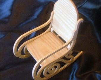Dollhouse Rocking Chair