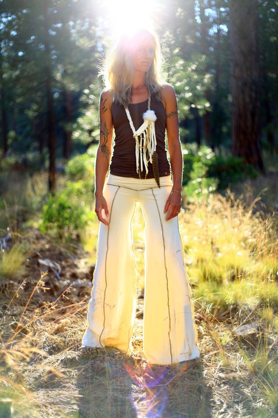 Organic Cotton Simone Wideleg Flow Pants