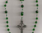 Emerald Green Anglican Rosary