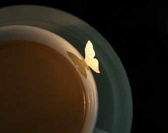 30 Wafer Royal Butterflies, in  Gold, Silver or Pearl colors