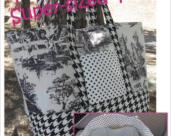 Totally Versatile Super-sized Tote Pattern