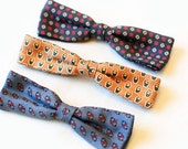 Men's Patterned Bow Ties, Collection of Three