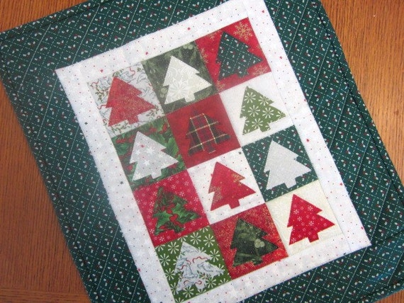Christmas Tree Wall Hanging or Table Runner