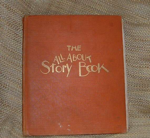 1929 The All About Story Book Including Little Black Sambo.