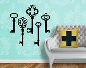 Skeleton Keys - Vinyl Wall Decal