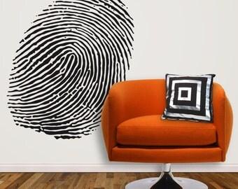Fingerprint by KathWren - Vinyl Wall Decal