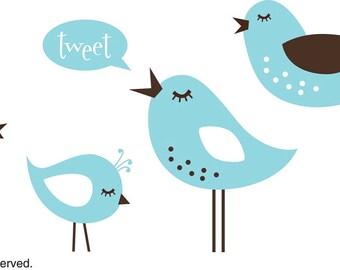 NEW - 5 Little Birdies