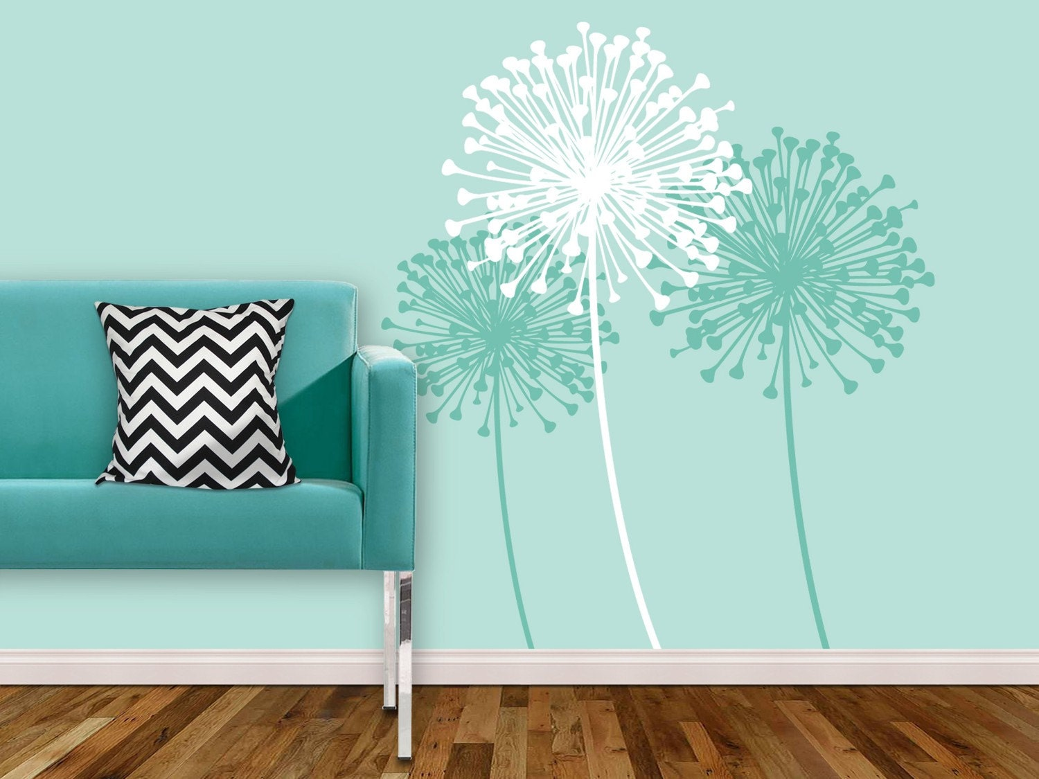 Dandelion by KathWren Vinyl Wall Decal