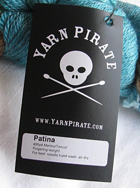 DESTASH YARN PIRATE Hand Dyed Sock Yarn