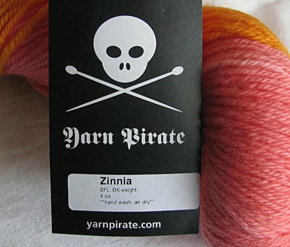 DESTASH Yarn Pirate Hand Dyed  Yarn