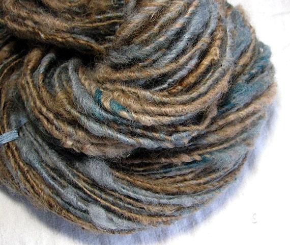 RESERVED for Sandy Handspun Art Yarn Sheeping Beauties 'Conversion'