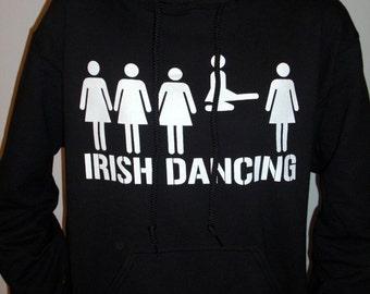 St. Patrick's Day, Irish Dance - hoodie dancing sweatshirt gift