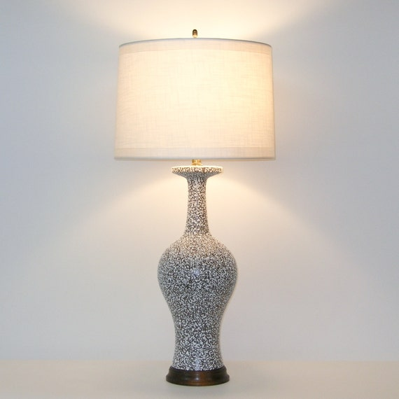 Mid-Century Modern Ceramic Lamp by Royal Haeger . LG 35 inch high