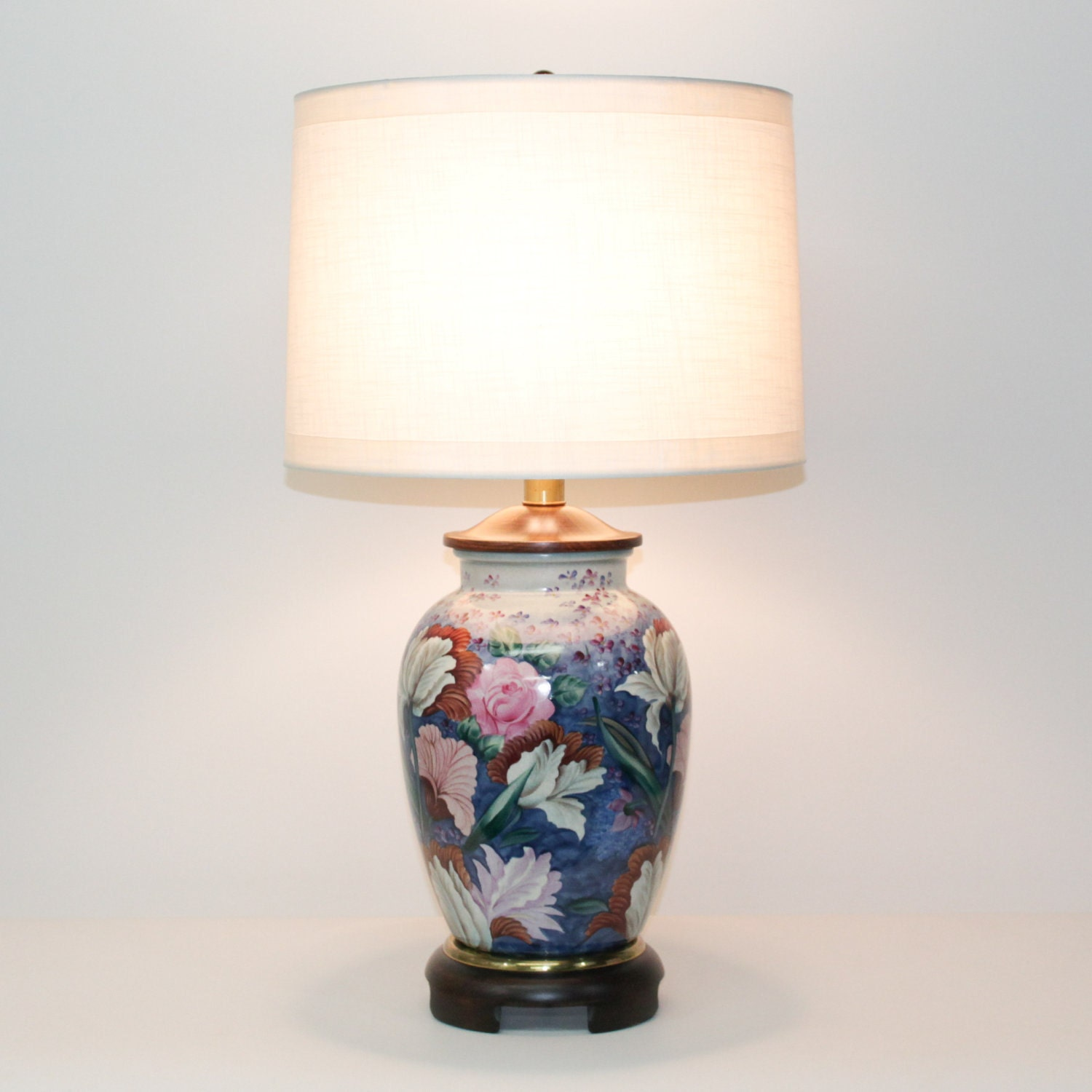 Pair Hollywood Regency Lamps By Frederick Cooper
