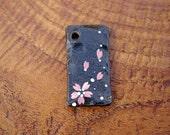 for April: Japan Iron Strap charm keychain pendant sakura