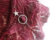 Little Star Shawl Pin