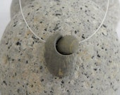 The Gift... Beach Stone Necklace