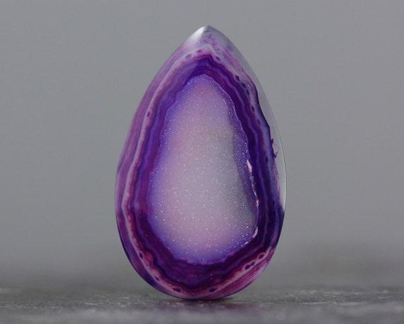 Shades of Purple - Druzy Stone Supply - Druzy Agate Geode Gem - 39mm (2395)