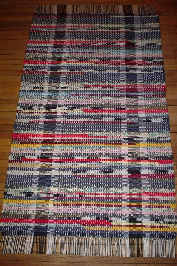 Multi-Color Rag Rug